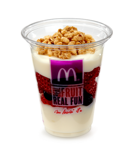 Fruit 'N Yogurt Parfait :: McDonalds.com