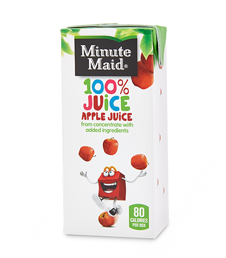Minute Maid&reg;  Apple Juice Box