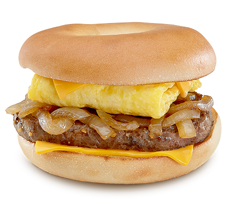 Steak, Egg & Cheese Bagel