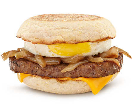 Steak, Egg & Cheese McMuffin