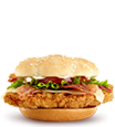 Premium Crispy Chicken Club Sandwich