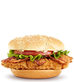 Premium Crispy Chicken Ranch BLT Sandwich