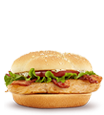 Premium Grilled Chicken Ranch BLT Sandwich