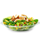 Premium Southwest Salad with Crispy Chicken