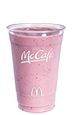 McCafé Strawberry Banana Smoothie