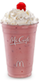 McCafé Strawberry Shake