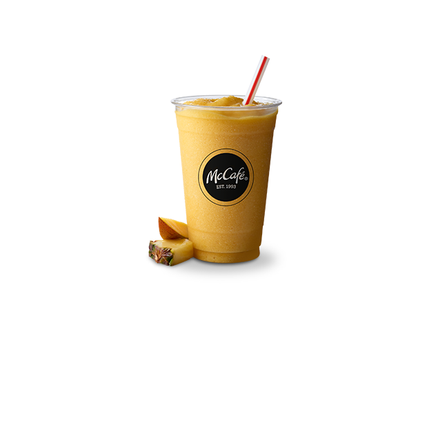 McCafé Mango Pineapple Smoothie