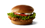 Premium Buttermilk Crispy Chicken Deluxe Sandwich