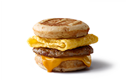 T Mcdonalds Sausage Egg Cheese Mcgriddles
