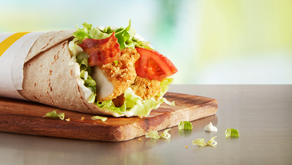 Chicken and Bacon McWrap