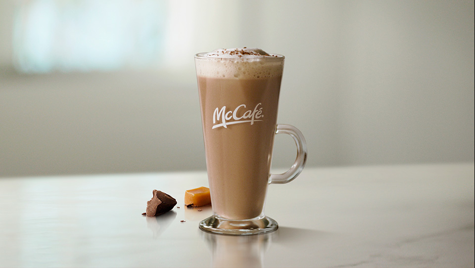 Caramel Chocolate Latte