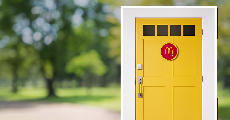 mcdelivery door