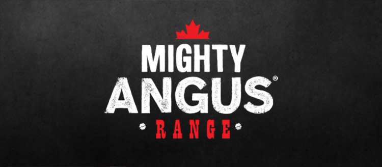 Mighty Angus range. Montreal steak spice bbq