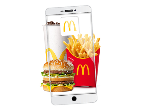 McDonald's App zum Downloaden