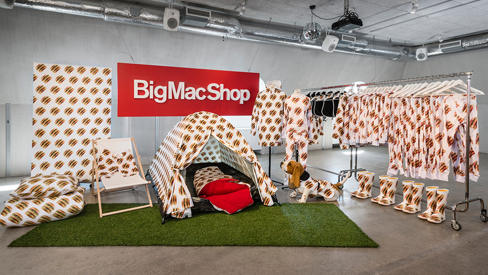 Big Mac Shop