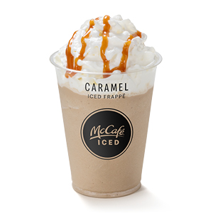 Caramel Iced Frappe Cold Drinks Mcdonald S Uk