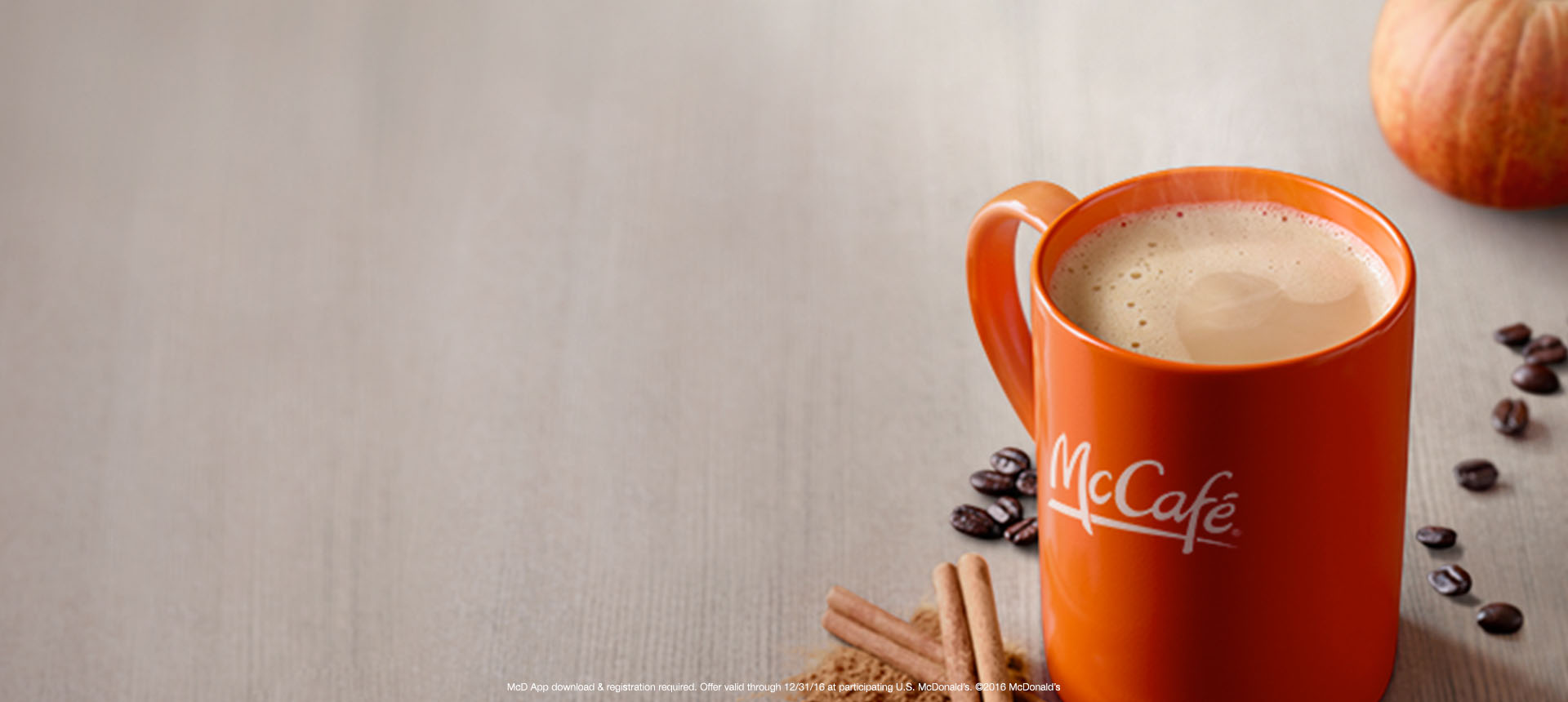 McCafé® Rewards: Buy 5 Drinks, Get 1 Free