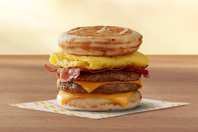 Triple Breakfast Stack McGriddles®
