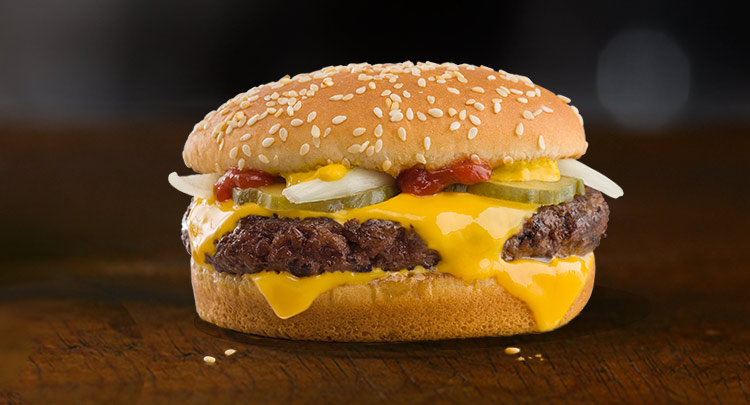 Quarter Pounder®* with Cheese