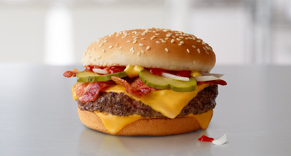Quarter Pounder* with Cheese Bacon