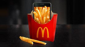 $1 Off Large Fry