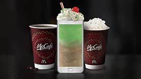 FREE Medium McCafé with purchase