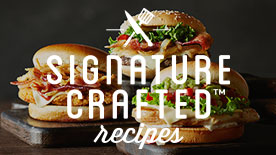Signature Crafted Recipes