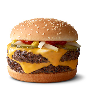 Double Quarter Pounder® with Cheese | McDonald's