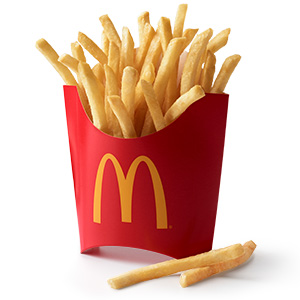 are mcdonalds french fries dairy free
