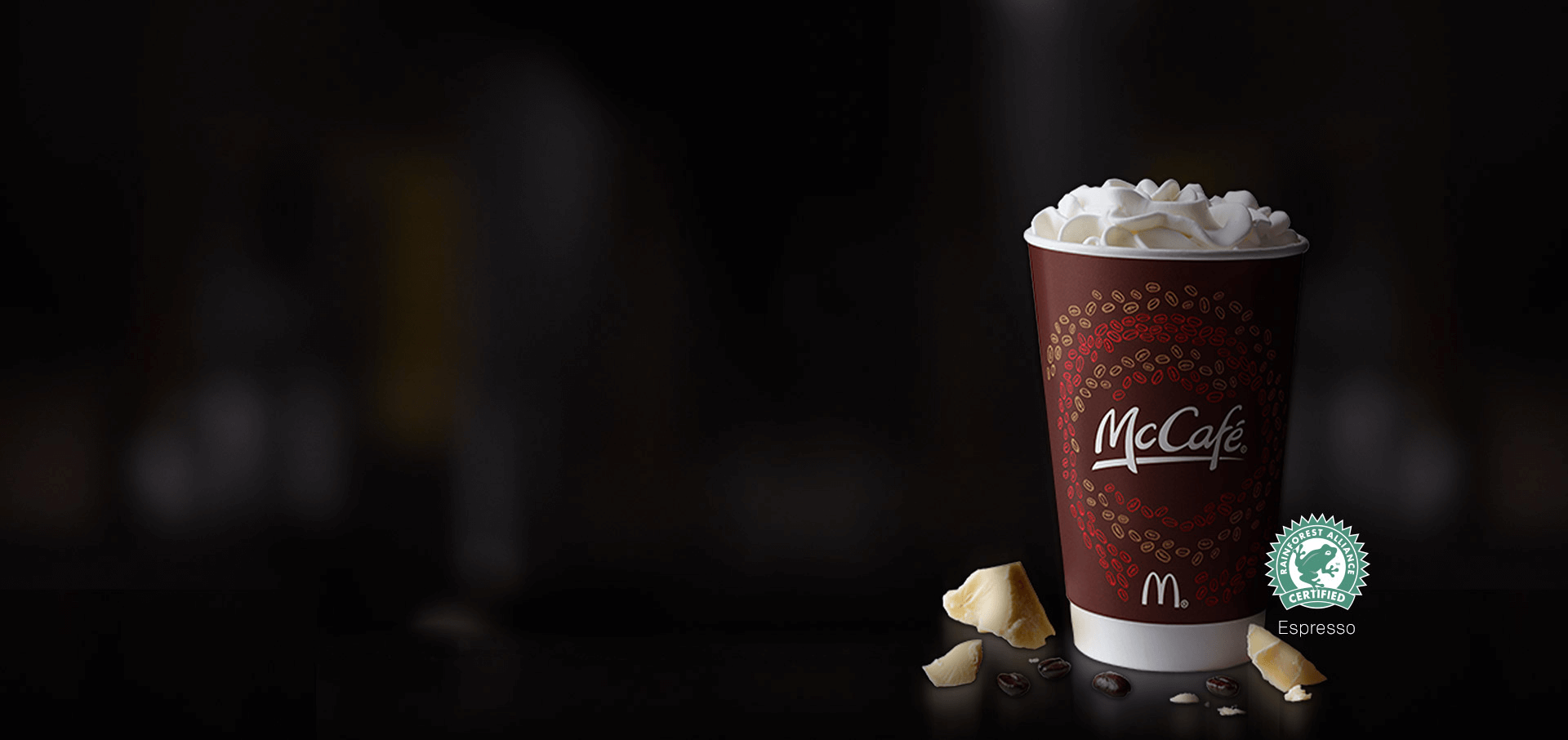 McCafé® White Chocolate Mocha