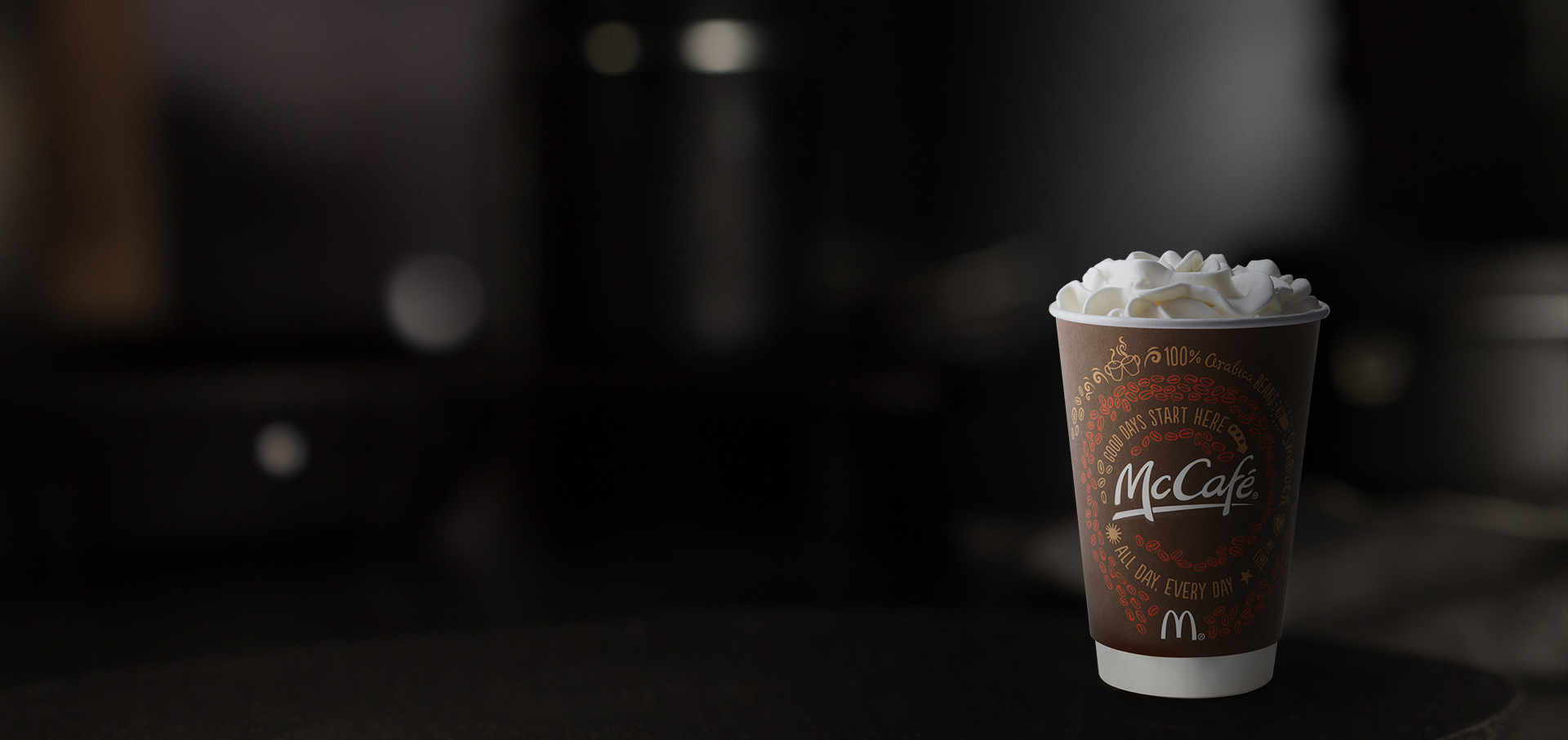 McCafé® White Hot Chocolate