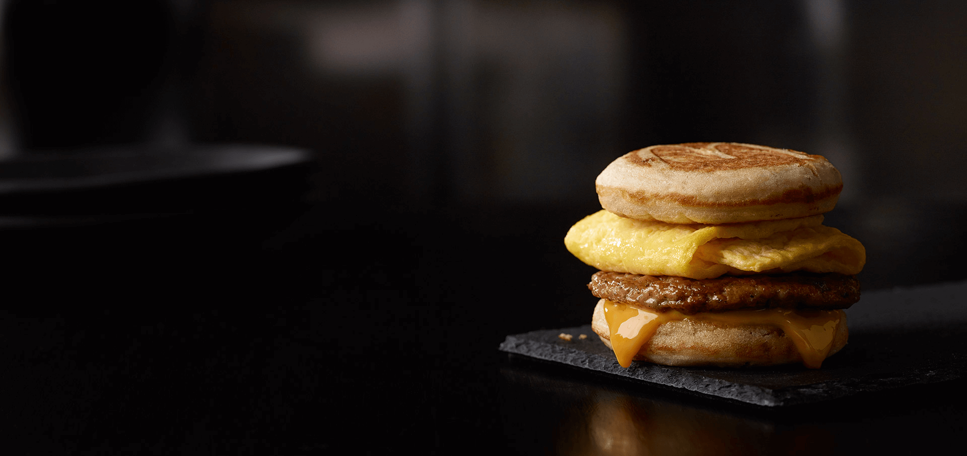 Sausage, Egg & Cheese McGriddles®