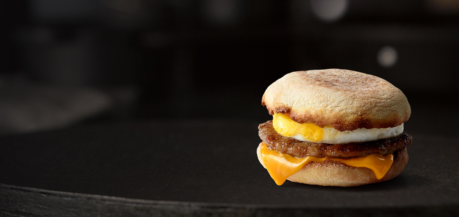 sausage mcmuffin® with egg: sausage sandwich | mcdonald's