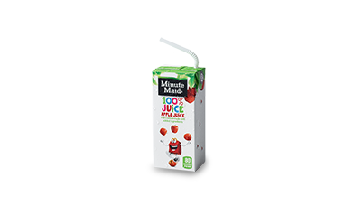 Minute Maid® 100% Apple Juice Box