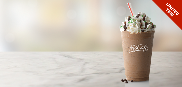 Shamrock Chocolate Chip Frappe (Small)