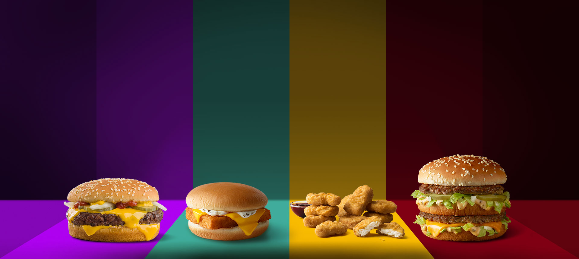 Mcdonalds Burgers Fries More Quality Ingredients