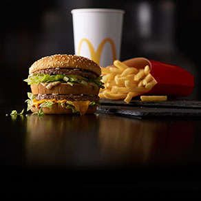 McDonald's Extra Value Meal® with Big Mac®, World Famous Fries® and Coca-Cola®