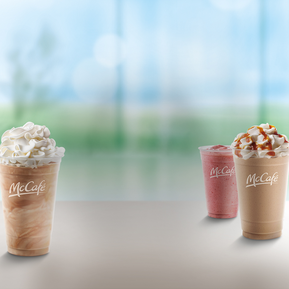 $2 Small McCafé Smoothie, Frappé, or Shake