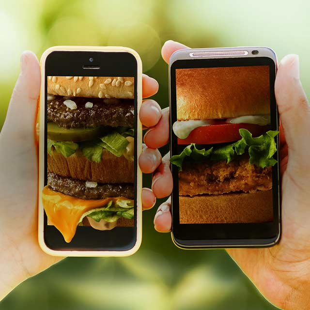 BOGO free sandwich with our App