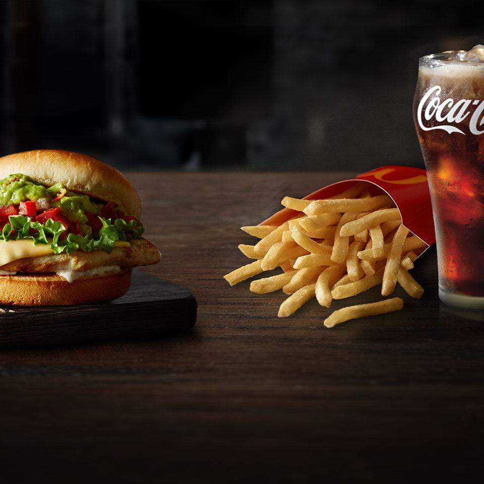 Now you can get FREE MD FRIES & SOFT DRINK with purchase of any Signature Crafted Recipe*