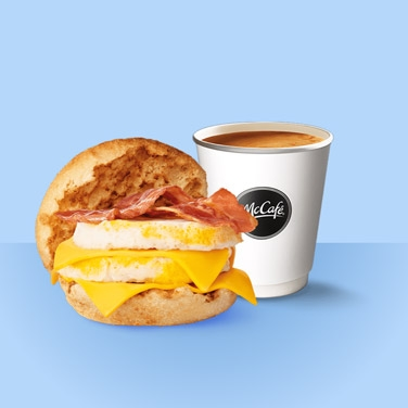 Egg McMuffin en Koffie