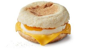 Egg Cheese Mcmuffin Free Range Egg Mcdonald S Uk