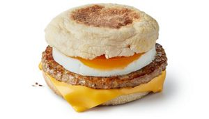 Sausage Egg Mcmuffin Breakfast Menu Mcdonald S Uk