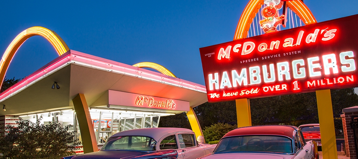 Our History Ray Kroc The Mcdonald S Brothers Mcdonald S