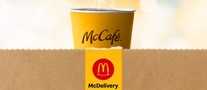 get McCafé® with McDelivery®
