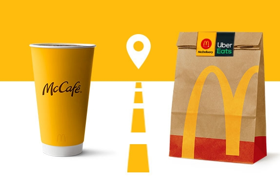 order mcdonald's on uber eats