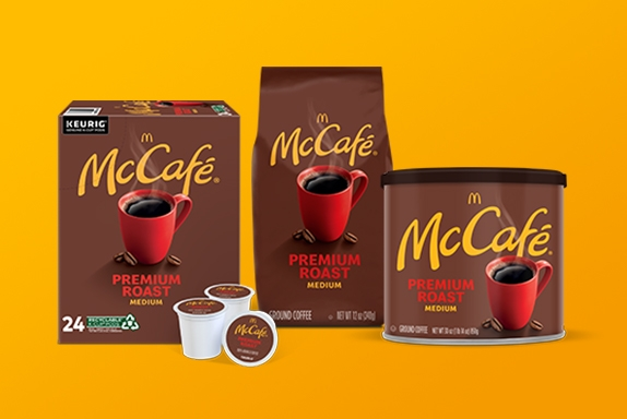 mccafé coffee products